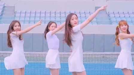 美女们非常可爱的MV舞蹈 APRIL-Lovesick