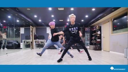 【风车·韩语】B.A.P《HONEY MOON》舞蹈练习室版