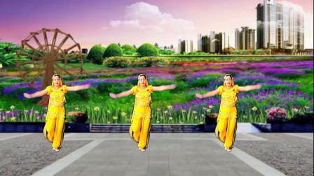山上之光广场舞零度桑巴原创印度舞附教学