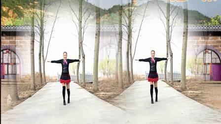 点击观看《好心情蓝蓝广场舞教学视频 好人就有好运 正背面 口令分解 简单易学》