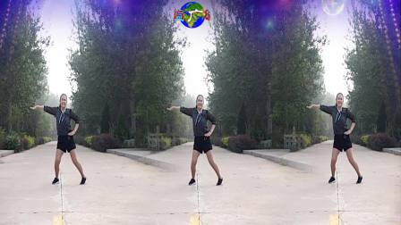 点击观看《好心情蓝蓝广场舞 健身操 小村庄之恋 正背面》