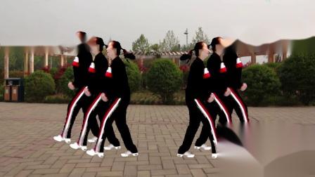 2018年宜阳明萱广场舞 玩腻 32步对跳广场舞