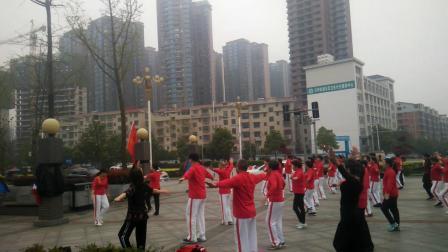 娄底市珠山公园北门广场舞,娄底幸福之家健身队,