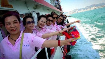 我们都是追梦人 淄博市追梦艺术团走进刘公岛 接受党性教育和爱国主义教育 2019年7月1日
