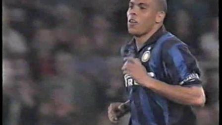 98-99意甲 罗马4-5国米 罗纳尔多触球集锦
