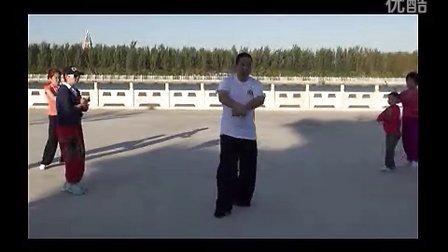 混元46式炮捶_分式教学__30雀地龙冲炮_张吉