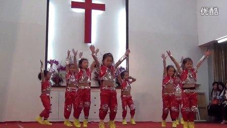 平潭县基督教儿童舞蹈