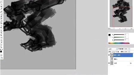 画道工作室cg原画教程-讽刺表现-剪影造型-机甲概念草图