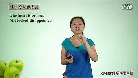(1)语法:过去分词(一)作定语表语词汇必修5(Unit1)(2012高二英语同步强化班名师教学视频11讲)