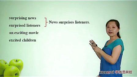(2)语法:过去分词(一)作定语表语词汇必修5(Unit1)(2012高二英语同步强化班名师教学视频11讲)