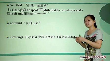 (2)语法倒装句倒装句在作文中的应用词汇必修5(Unit4)(2012高二英语同步强化班名师教学视频11讲)