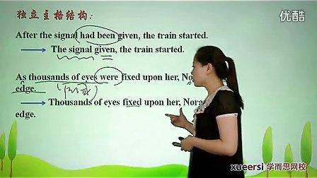 (3)语法:过去分词(三)作状语词汇必修5(Unit3)(2012高二英语同步强化班名师教学视频11讲)