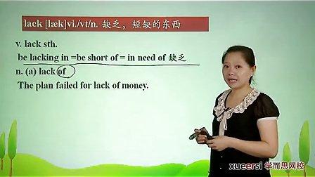 (5)语法:过去分词(三)作状语词汇必修5(Unit3)(2012高二英语同步强化班名师教学视频11讲)