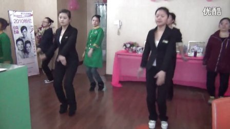 可丽可心员工舞蹈阿里阿里