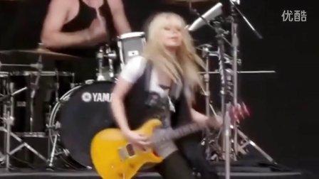 【BOSSA CHINA】女吉他手 Orianthi - Voodoo Chile