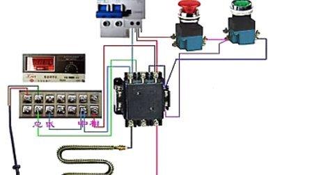 电器实物接线图