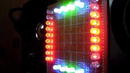 自制音樂電平指示燈