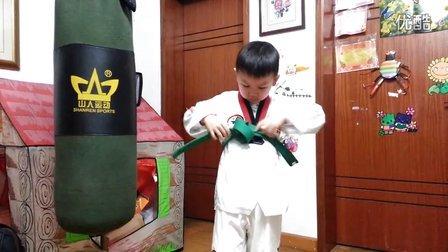 跆拳道腰带系法-正心跆拳道馆
