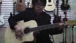 《老男孩》吉他示范 福州吉他