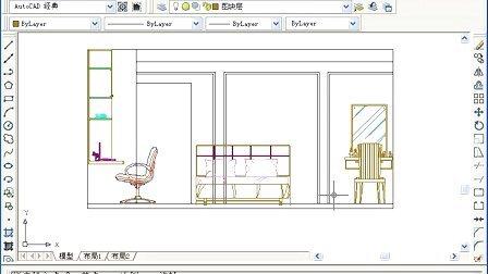 中文版autocad2008建筑制图100例