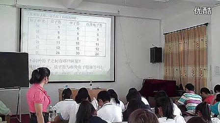 2011初中化学优质课教学视频《原子的结构》2