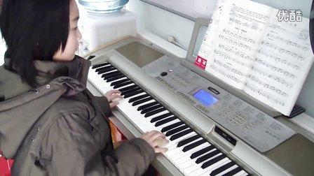 电子琴小红帽两手简谱