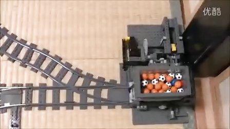 乐高lego积木制作的流水线