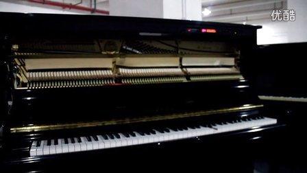 雅马哈钢琴内部结构示意图