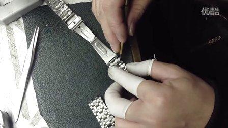 a43包片表带拆表带视频