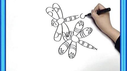 蜻蜓折纸视频步骤图解