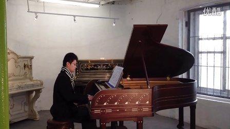 钢琴谱 肖邦升c小调夜曲