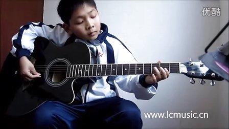 小星星吉他版-彬彬同学|龙川学吉他|老隆小飞吉他工作室|Lcmusic乐器