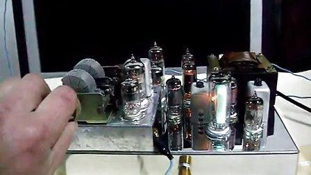 电子管超再生调频fm收音机