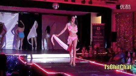 伪娘 TsCC 2013 澳大利亚伪娘变性人选美: 泳装