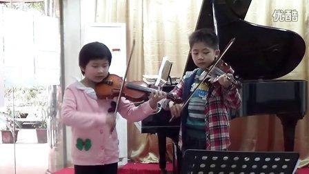 小提琴齐奏《欢乐颂》琴键狂舞伴奏