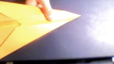 复仇者纸飞机折法