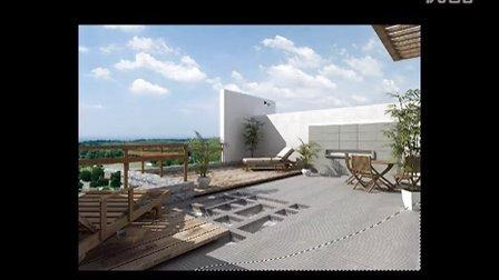 cad 3dmax ps 园林景观设计 室外效果图视频教程图片