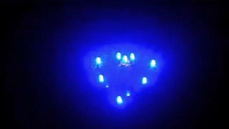 led心形流水灯