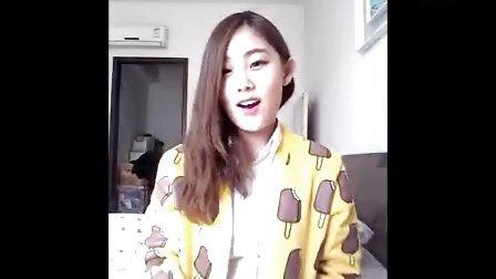 韩国可爱美女 可爱颂 - 1加1等于 小可爱
