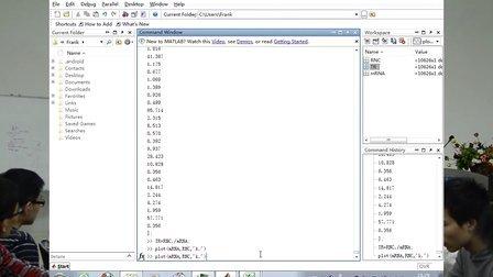 matlab与科学绘图 1-matlab数据导入和散点图