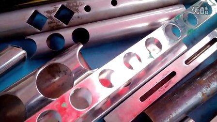 液压冲孔机冲不锈钢管材冲孔机样管锌钢护栏开孔器自动定位打孔器