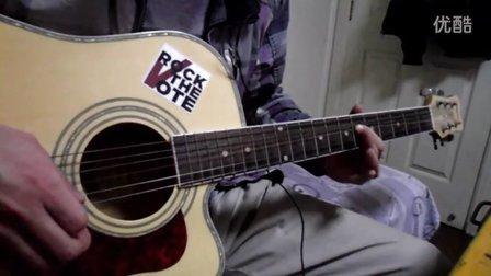 纯木吉他版灰色轨迹尾奏