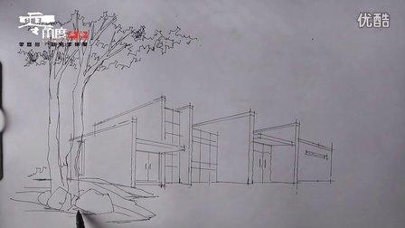 陈立飞老师—建筑手绘03-广州零角度手绘培训教程