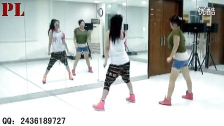 舞蹈sarvar简单好看的初级hiphop街舞入门教学 爵士舞 庞琳