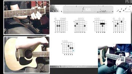 《痛哭的人》伍佰吉他谱教学,黑蜘蛛吉他博客