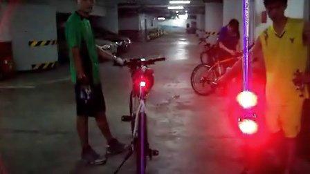 油碟自行车刹车灯尾灯