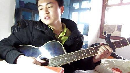 军中绿花吉他谱