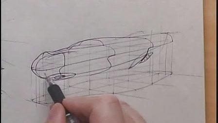 概念飞行器设计手绘视频教学
