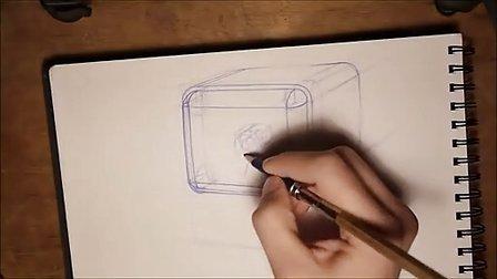 产品手绘两点透视教程1