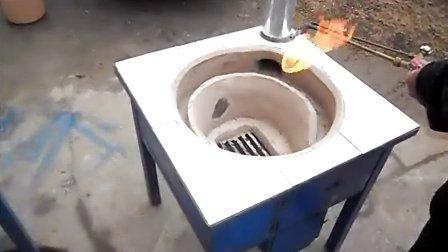 怎样用废油桶做柴灶